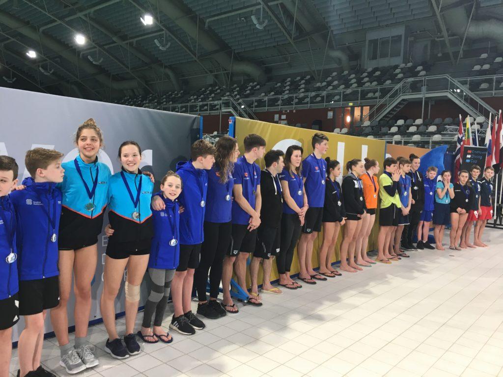 1-2 Medal ceremony Synchro Boys AB 3m, Girls C 1m, Boys A 3m, Boys B Platform, Women 3m Final, Men 1m Final (2)